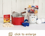 Let it Snow ... Popcorn Bucket Color Changing Whirley Pop