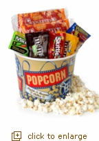 Mini Movie Night Gift Set with Reusable Medium Tub
