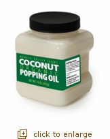 Organic Coconut Popping Oil