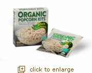 Organic Popcorn Popping Kits: 3-Pack