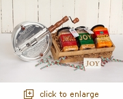 Pour, Pop and Jingle Set Original Silver Whirley Pop