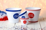Red White & Blue Popcorn Bucket Set