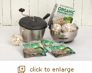 Simply Organic Popcorn Gift Sweet & Easy Snack Machine