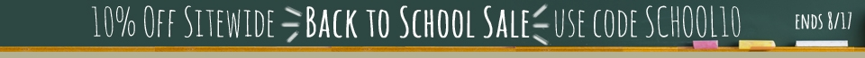 10% Off Sitewide - Coupon SCHOOL10