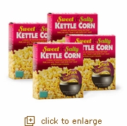 Kettle Corn Popcorn Popping Kits: 12-Pack