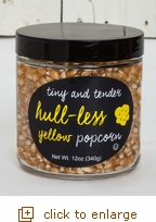 Tiny & Tender Hull-less Yellow Popcorn