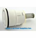 A&A Manufacturing QuikClean Style II High Flow Cleaning Head Internal - White # 521607
