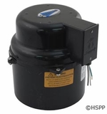 Air Supply of the Future Blower Silencer, 1 HP, 115v, 4.9A, Hardwire # 6310101