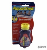 AquaChek/Hach Test Strips Red 4-in-1 Total Bromine 50 ct # 521252A