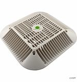 """AquaStar Pool Products 14""""x14"""" Retro to 9""""x9"""" Anti-Entrap.Suct.Outlet Cover,White # R914101"""