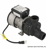 Balboa Pump Bath Vico Pwr WOW 1 HP 115v w/Air Sw. & Cord # 1051057