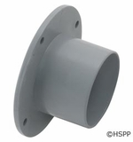 """Custom Molded Products Insider Wall Fitting, 2""""x1-1/2""""fip, gray # 25524-201-000"""