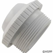 "Custom Molded Products Outlet fitting, 1-1/2""mpt x 1"" Eye, White (Generic) # 25552-400-000"