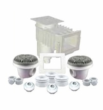 Custom Molded Products Skimmer Builder Kits Wide - Gray # 25160-111-900