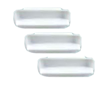Custom Molded Products White Pool Wall Steps # 25578-000