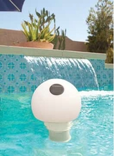 GAME Solar Color-Changing Globe Pool Chlorinator # 9002