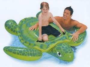 Intex Sea Turtle Ride On Inflatable Pool Toy # 56524
