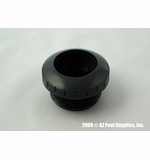 """Paramount 1-1/2"""" Threaded Return with 1"""" Opening - Black # 004-252-3040-03"""