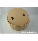 Paramount Debris Canister Deck Lid and Ring - Beige # 005252457007