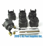 Paramount PCC 2000 Professional Step Nozzle Tool with 5 Replacement Heads # 004552545600