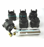 Paramount Pool Valet Retro Nozzle Professional Tool with 5 Replacement Heads # 004502545600
