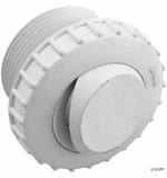 """Pentair 1.5""""mpt Wall Fitting w/ 1/2"""" Slot Opening - White # 540000"""