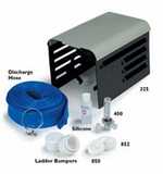 """Pentair 2"""" x 50' Backwash Hose with Stainless Steel Clamp # R221220"""