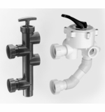 Pentair Pre-plumbed Valves - for 1.1/2 & 2 in. D.E. and Sand Filters