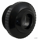 """Pentair Wall Fitting w/ 1"""" Opening - Black # 540029"""