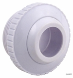 """Pentair Wall Fitting w/ 1"""" Opening - White # 540028"""