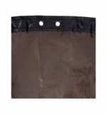 Pool Tux Brown/Black Winter Cover 25Yr 16'X32' Oval # BB1632