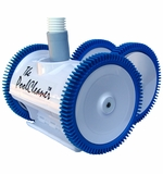 POOLVERGNUEGEN 4-Wheel Suction Side Cleaner Automatic Pool Cleaner # 896584000-020