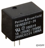 Potter & Brumfield Relay T-81 Type SPDT 1A 24VDC Jandy Boards # T81N5D312-24