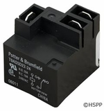 Potter & Brumfield Relay T9AP SPDT 30A 24vdc PCB Mount # T9AS5D22-24