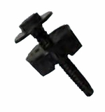 "CMP 2"" Poly Pool Nylon Wall Fastener # 25589-200"
