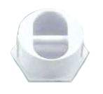 CMP White Rope Anchor with Plastic Pin # 25567-000