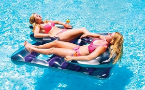 Swimline Face To Face Inflatable Double Lounger # 9042