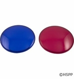 Waterway Light Lens Set Red Blue # 630-0005