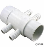 "Waterway Manifold 3/4""b 4 Port Flow Thru 2""s x 2""spg # 425-5040"