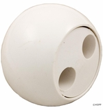 Waterway Pulsator Eyeball Assembly - White # 400-1300