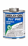 Weld On Gray PVC Cement GAL 711 # 10117
