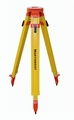 "NWFT99A Wood/Fiberglass Tripod, Quick Clamp, 43""/72"", 5/8 x 11  Fiberglass clad wood construction tripod"