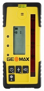 GeoMax ZRD105 DIGITAL Pro Rotary Laser Receiver with clamp