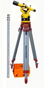Northwest NSLP500B Transit Level Pkg with Tripod and 9ft Level Rod