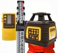 Northwest NEXP602 Rotary Laser Level Kit with Tripod and 9ft Rod
