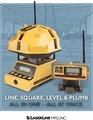 LaserLine Quad 4000 One-Man Layout & Control Laser, Long Range  QUAD 4000 LINE, SQUARE, LEVEL & PLUMB  LASERLINE