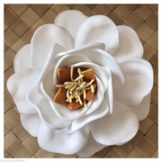 "4"" GARDENIA FLOWER HAIR Pick"