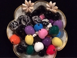 Custom Made To Order Kukui Nut Leis- 4 COLORS
