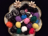 Custom Made To Order Kukui Nut Leis- 2 COLORS
