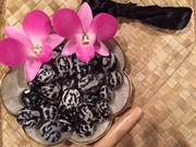 Hawaiian Kukui Lei Making KIT-Tiger Print